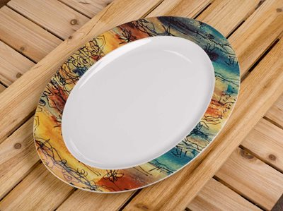 Banyan Trees - Large Serving Platter