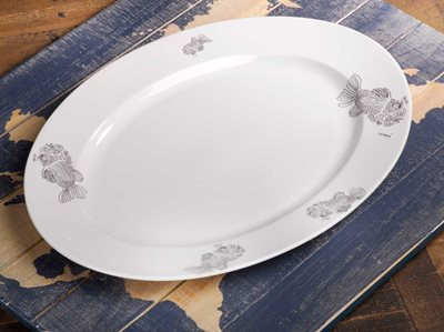 Fish - Large Serving Platter