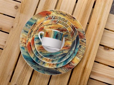 Banyan Trees - 5 Piece Placesetting