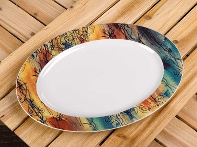 Banyan Trees - Medium Serving Platter