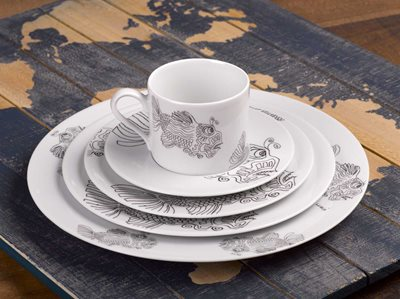Fish - 5 Piece Placesetting